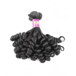 North Korean Hair Funmi hair Unprocessed Virgin Hair Rose curl 95-100g /package 14""