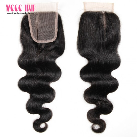 4x4 Virgin Hair Lace Closure - Body Wave 8-20 inch