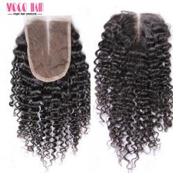 4x4 Virgin Hair Lace Closure Kinky Curl 8-20 inch