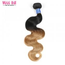 "Brazilian Hair Body Wave Ombre Color 10""-28"" 100g"