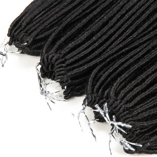 synthetic hair Faux Locs - Nature Locs