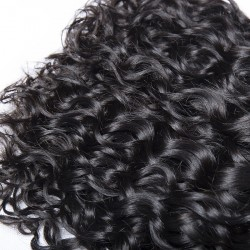 Brazilian Hair Water Wave Nature Color 100% Human Hair Hair Extensions
