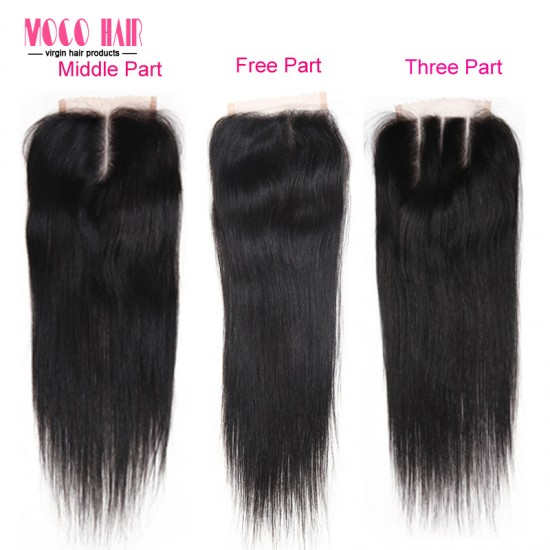 4x4 Virgin Hair Lace Cloure - Silky straight 8-20 inch