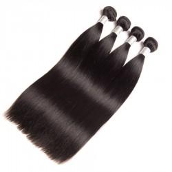 4 Bundles Virgin Hair Straight hair Bundles 100% Human Hair Extensions Double Weft No shedding