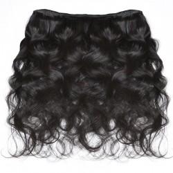Brazilian Virgin Hair Body Wave 3 Bundles Natural Color 100% Human Hair Extensions 12-28 Inch Unprocessed Hair Weave