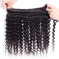 "Unprocessed Brazilian Virgin Hair Deep Wave Real Virgin Hair 12""-28"" 100g"