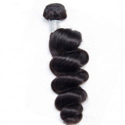 "Unprocessed Brazilian Virgin Hair Loose Wave 12""-28"" 100g"