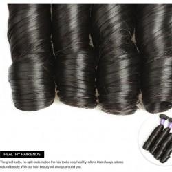 "Brazilian Hair Spring Curl 100% Human Hair Natural Color 100g 12""-18"""