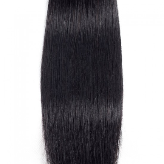 "100% human hair silky straight 10""-28"" 100g"