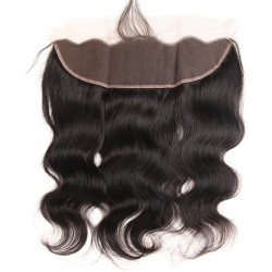 Brazilian Virgin Hair 3 Bundles With Lace Frontal- Body Wave