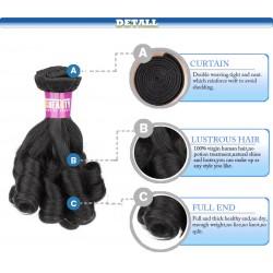 """North Korean Hair Funmi hair Unprocessed Virgin Hair Rose curl 95-100g /package 14"""""""