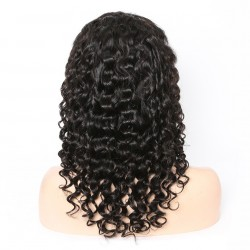 10A Loose Deep 360 Lace Frontal Human Hair Wigs With Baby Hair
