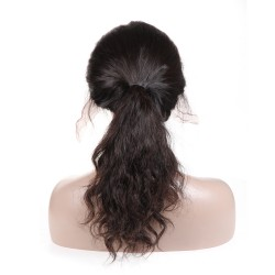 10A Lace Front Human Hair Wigs With Baby Hair Remy Hair Wigs Natural Wave