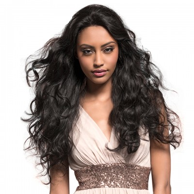 Lace Front Human Hair Wigs Pre Plucked 12 to 24 Inch Brazilian Body Wave Lace Wig Remy Hair With Baby Hair