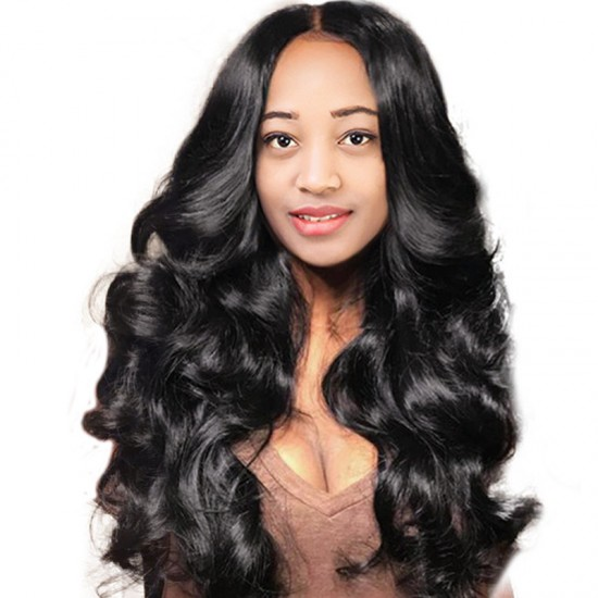 10A Lace Front Human Hair Wigs Body Wave Wigs Remy Hair