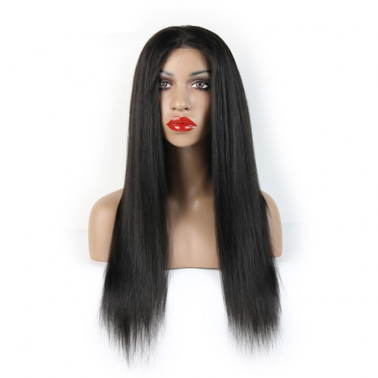 Full Lace Human Hair Wigs - Straight